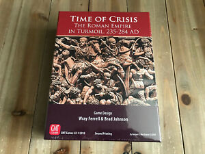 juego wargame - TIME OF CRISIS 2nd Printing - GMT Games