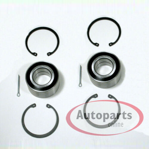 Opel Vectra B 2 Stück Radlager Satz mit Zubehör für vorne Vorderachse