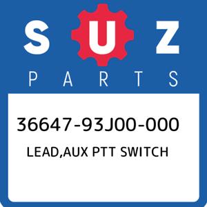 36647-93J00-000-Suzuki-Lead-aux-ptt-switch-3664793J00000-New-Genuine-OEM-Part