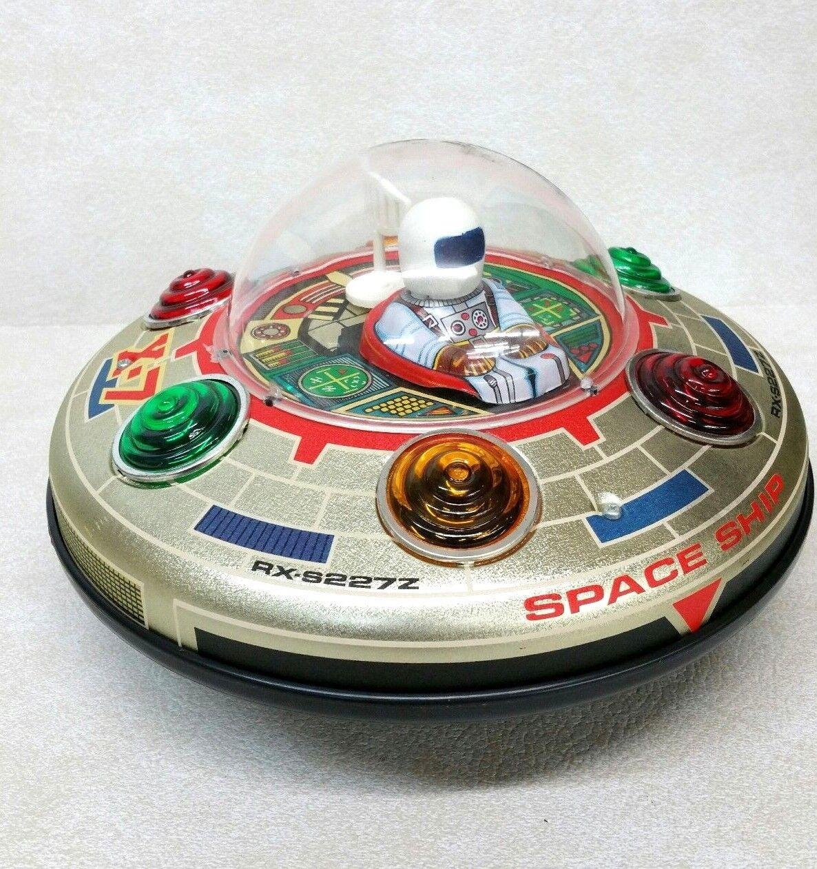 Vintage Masudaya X-7 Space Ship Tin Toy Never Never Never Used NEW 915a7e