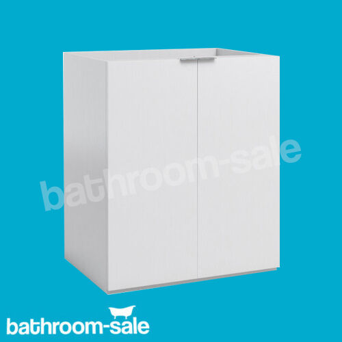 MyPlan Arctic Gloss Weiß 600 x 450 Deep Bathroom Vanity Unit Only