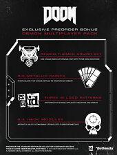 DOOM PS4 DLC - Demon Multiplayer Pack NOT FULL GAME