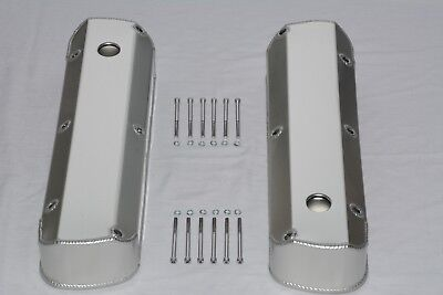 SBF Ford 289 302 351W  Fabricated Aluminum Tall Valve Covers R-6343