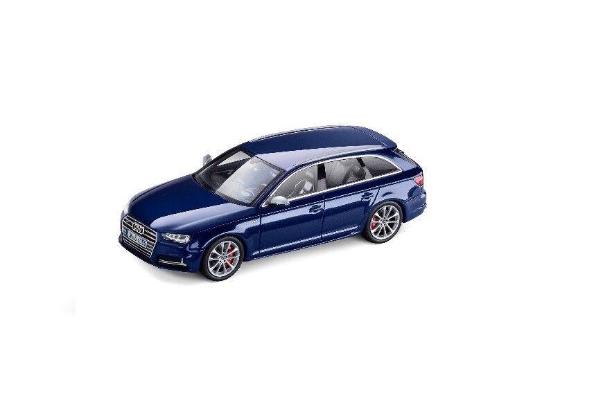 Original Audi a4 s4 8 W b9 Avant Voiture Miniature 1:43 navarrablau Bleu 5011614213   Pas Chers