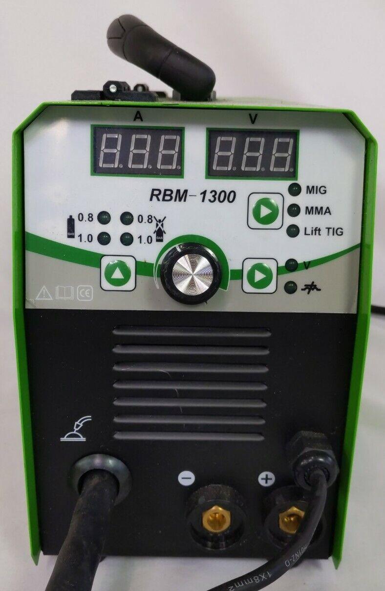 Used Reboot Mig Welder 4 in 1 Gas/Gasless IGBT Inverter Flux Core Welding Machine.