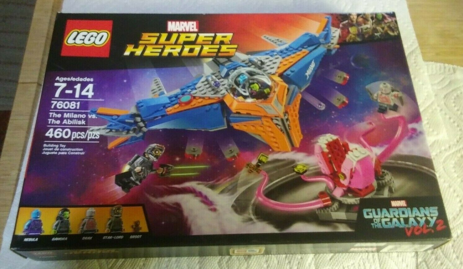 Lego marvel super heroes 76081