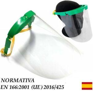 2x-Proteccion-facial-protector-Pantalla-protectora-para-el-rostro-Recambios