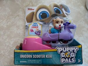 Disney Junior Puppy Dog Pals KEIA UNICORN SCOOTER LAUNCH FIGURE