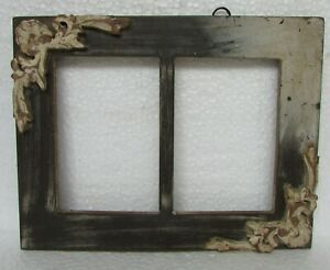 Vintage-Old-Style-Twice-Picture-Photo-frame-Collectible