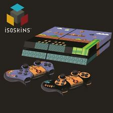 Isoskin® Bros Retro Level Brick & Pipe Playstation 4 (PS4) Skin Decal