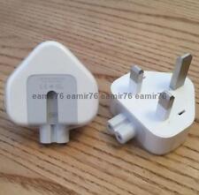 2 x Genuine Apple iPad Air Pro iPhone 7 7+ 6s MacBook Official Adapter Plugs UK