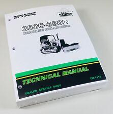 350c 350d John Deere Crawler Bulldozer Technical Service Shop Manual Tm 1115