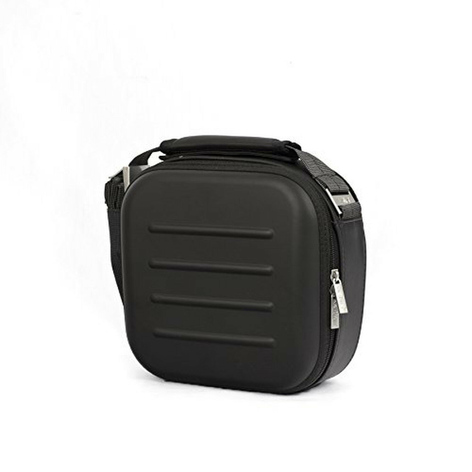 Valira Nomad Satin execuive lunch box maxi noir, tissu