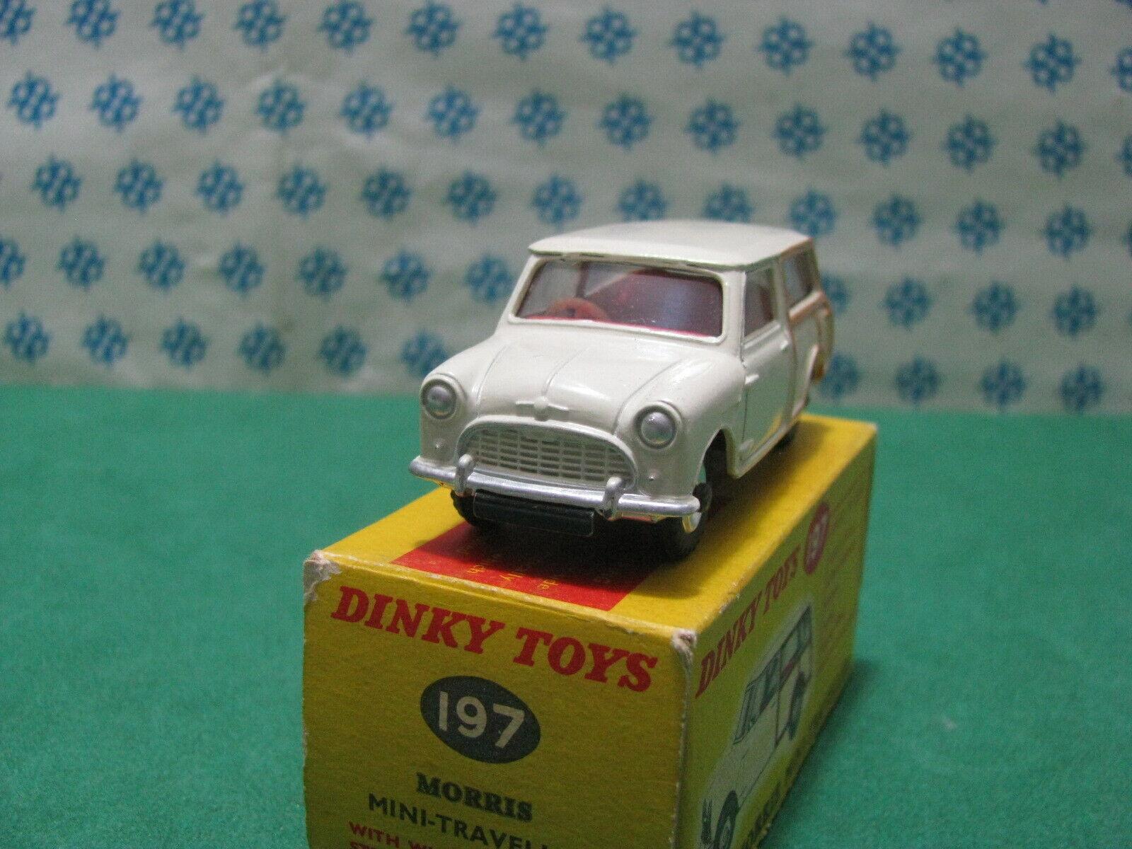 Vintage -  Mini Morris Traveller  - Dinky Juguetes 197  Nuova - Mint in Box