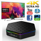 1080P Full HD Smart TV Box 4K Amlogic S912 Android 6.0 WiFi 2+16G Octa Core Lot