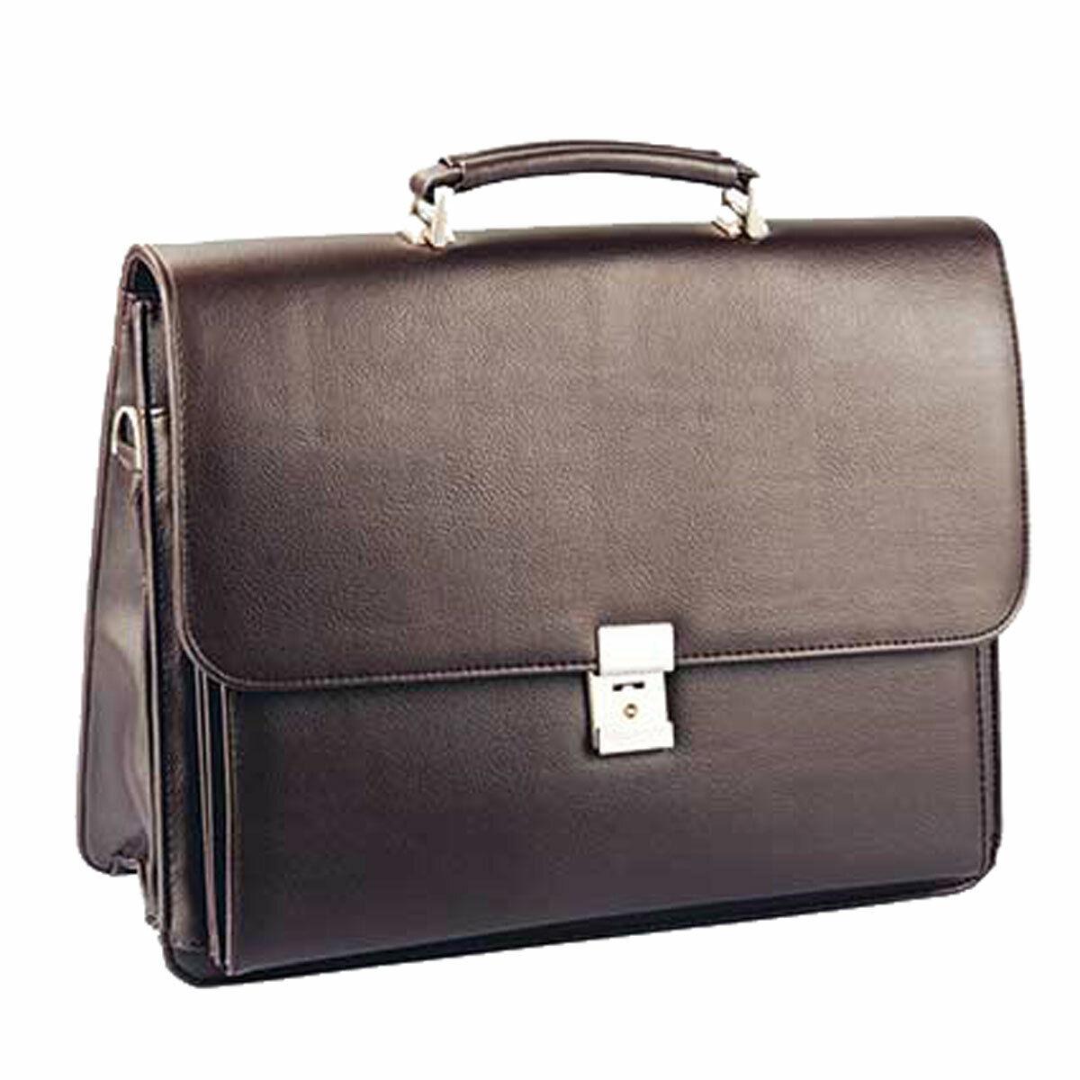 Aktentasche-Arbeitstasche-Umhängetasche Tasche-Braun 40 x31x16cm–Bowatex | Viele Stile  | Günstigen Preis  | In hohem Grade geschätzt und weit vertrautes herein und heraus