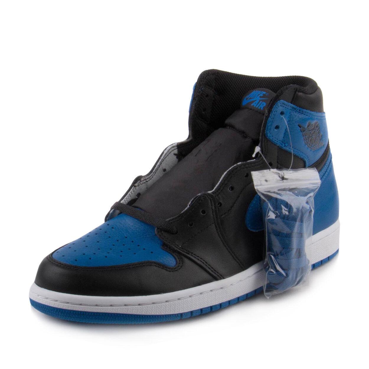 Nike Mens Air Jordan 1 Retro High OG  Royal  Black Royal-White 555088-007