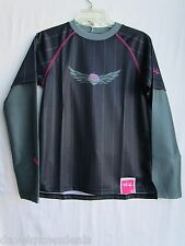 TROY LEE DESIGNS TLD motocross MOTO GIRLS jersey blk/pnk SMALL (womens ?)
