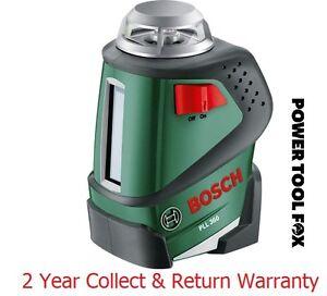 Capable Savers Bosch Pll 360-ligne Niveau Laser - 0603663000 3165140562881 D-afficher Le Titre D'origine Forme éLéGante