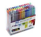 LolliZ 70 GEL Pens Tray Set 70 Unique Color Choices 810550026654