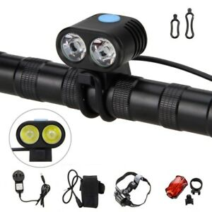 Rechargeable-5000LM-2X-XM-L2-LED-Bicycle-Bike-Torch-Head-Light-Headlamp-4-18650