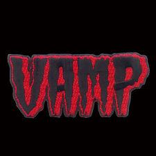 KREEPSVILLE666 RED VAMP PATCH 10CM. VAMPIRE. HALLOWEEN. HORROR.