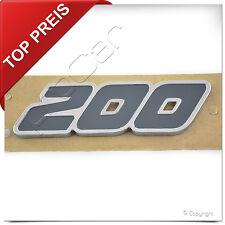 """⭐️ Original Ford Fiesta ST Aufkleber Emblem """" 200 """" Schriftzug Abzeichen Logo"""