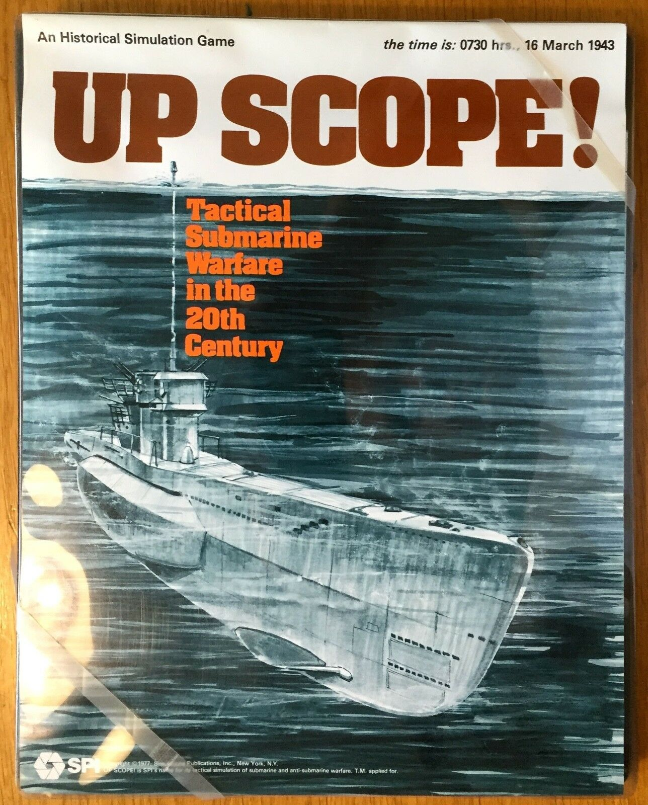 UP SCOPE - SPI 1977 - COME NUOVO - UNPUNCHED