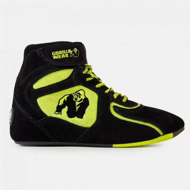 Gorilla Wear chicago High Tops-Black/Neon Lime