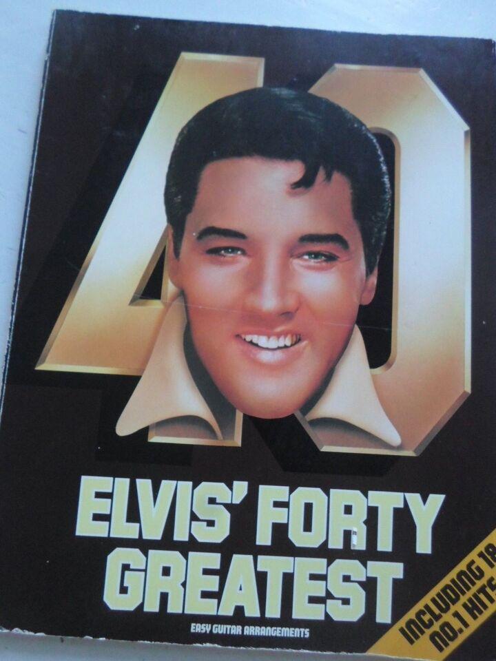 Guitar, Elvis 40 greatest