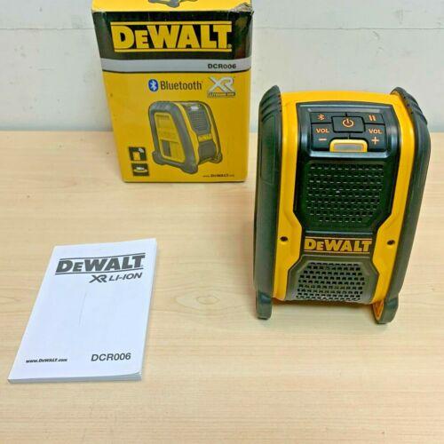 Coffret * DeWalt DCR006 XR Bluetooth Speaker 10.8 V 18 V Li-ion nu-body only