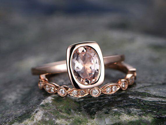 Engagement Rings Intelligent 7mm Platinum Plated Silver 1.5ct Cz Half Bezel Wedding Engagement Ring Size8