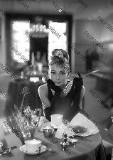 Breakfast at Tiffany's Black & White Movie Wall Art Print of Icon Audrey Hepburn