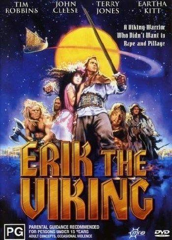 1 of 1 - Erik The Viking - DVD LIKE NEW FREE POSTAGE AUSTRALIA REGION 4