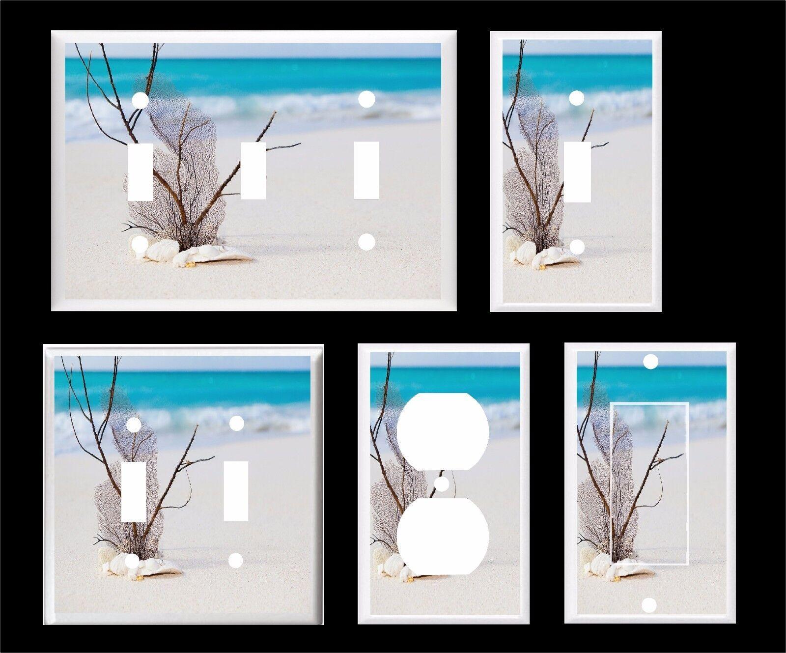 Beach Ocean Light Switch Cover Plate