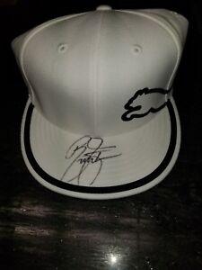new arrival 64f8e 9de05 Image is loading Rickie-Fowler-Autographed-Puma-hat