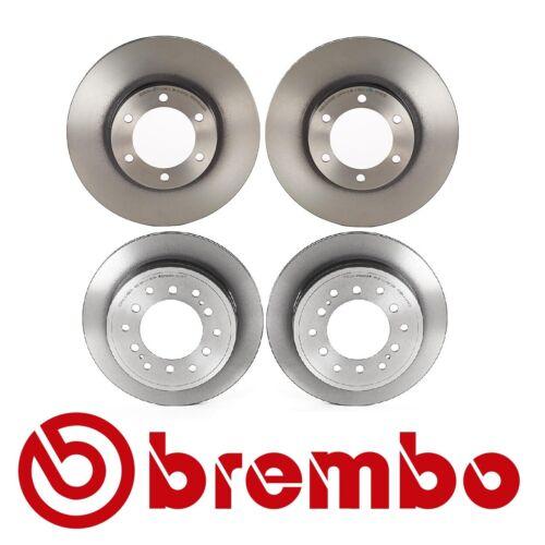 For Toyota 4Runner 2002-2009 Set of Front /& Rear Disc Brake Rotors Brembo