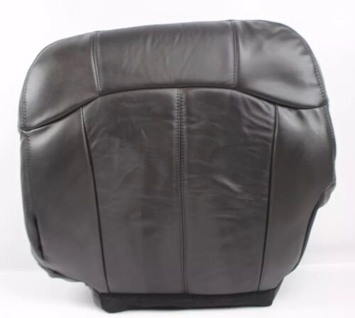 2000 2001 2002 Chevy Silverado 1500 HD LT LS Driver Bottom Seat Cover Dark Gray