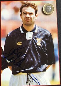 BRIAN-McCLAIR-MANCHESTER-UNITED-SCOTLAND-CELTIC-MOTHERWELL-SIGNED-MAG-CUTTING