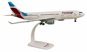 Eurowings-Airbus-A330-200-1-200-A330-Flugzeug-Modell-Limox-Wings-LX028-D-AXGA