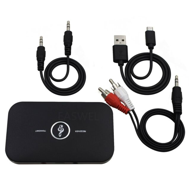 2in1 Bluetooth Transmitter Receiver Wireless A2DP Home TV Stereo Audio Adapter R