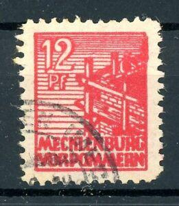SBZ-Mecklenburg-Vorpommern-MiNr-36-y-f-gestempelt-geprueft-Kramp-XXX
