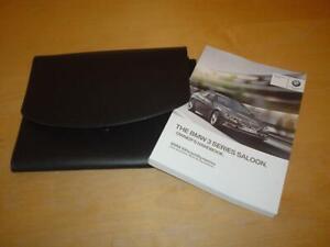 BMW SERVICE BOOK 3 SERIES E90 318 320 328 330 335 M3 i d Owners Handbook Manual
