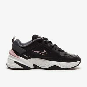 Details about Womens Nike M2K Tekno Trainers Black/Plum/White AO3108 011