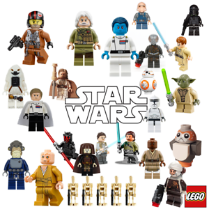 Lego Star Wars Genuine Mini Figures The Last Jedi Rise Of Skywalker Rogue One Ebay