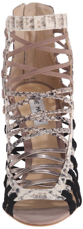 NWO 129 STEVE Strappy MADDEN SLEIK Leder Strappy STEVE Snakeskin Dress Sandales Größe 8 M b61de5