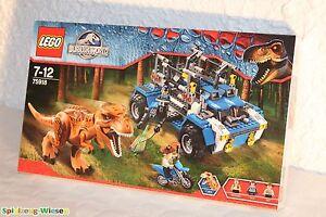 Lego® Jurassic World ™ 75918 sur la piste du T-rex - Nouveau & Ovp