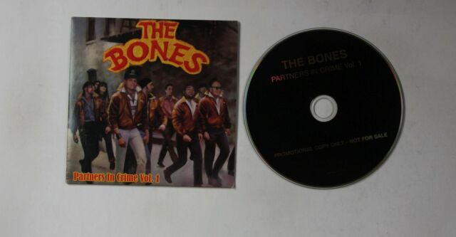 The Bones Partners In Crime Vol. 1 GER Adv Cardcover CD 2006 Punk Rock & Roll