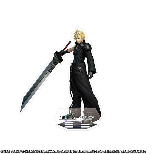 Final Fantasy DISSIDIA Visual Acrylic Stand Figure Cloud Square Enix H12 × W10㎝