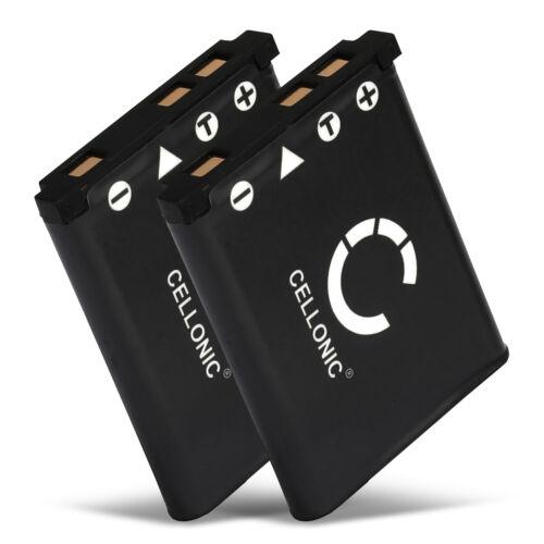700mah 2x batería para Fuji FinePix jx250 finepix z100fd finepix jx500 batería de repuesto